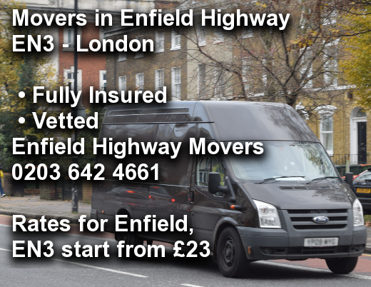 Movers in Enfield Highway EN3, Enfield