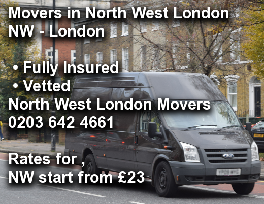 Movers in North West London NW,