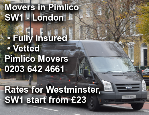 Movers in Pimlico SW1, Westminster