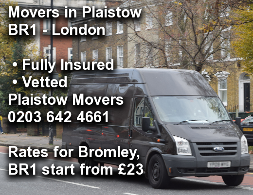 Movers in Plaistow BR1, Bromley