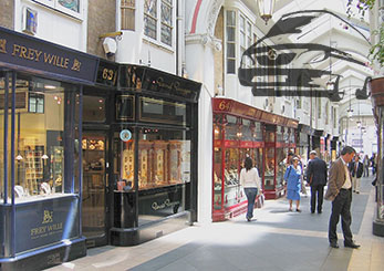 Piccadily, Burlington Arcade